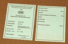 Betriebserlaubnis,Allgemeine Betriebserlaubnis,Schwalbe,KR51/2,Simson ,Moped