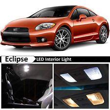 10x White Interior LED Lights Package Kit 2006-2012 Mitsubishi Eclipse