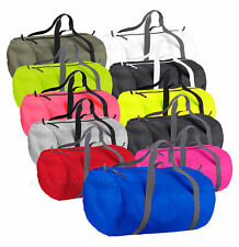 Barrel Bag Packaway Holdall Sport Bag Swim Water Resistant Duffle Gym Bag