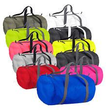 Barrel Bag Packaway Holdall Sport Bag Swim Water Resistant Duffle Gym Bag