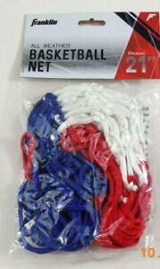 Franklin Hourglass Red White Blue All Weather Basketball Net 12 Inch Loop
