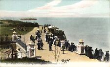 Cliftonville (Margate). Queen's Promenade # 30 by LL / Levy. Coloured.