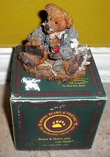 "Boyds Bears and Friends Collection Bear Figurine Wilson The ""Perfesser"""