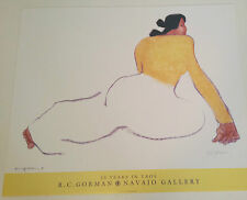 """RC GORMAN SIGNED Posters, """"MARIA YELLOWHAIR"""" 1993 Size is 25"""" X 30"""""""