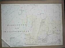 Old Antique Ordnance Map 1909 Yorkshire CXXXVII.1 Markington Ingerthorpe ...