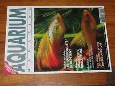 $$$ Revue Aquarium magazine N°99 XiphosMerouTubifexEigenmanniaFiltration