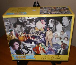 ELVIS PRESLEY 2003 Jigsaw Puzzle NEW & SEALED in Original Box 1000 pcs Hoyle