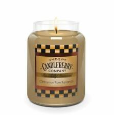 Candleberry Candles   Cinnamon Rum Bananas   Relaxing Aromatherapy Candles  