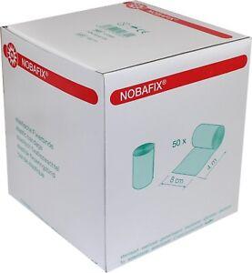 Nobafix elastische Fixierbinden Mullbinden Großpackung 50 Stück (8 cm x 4 m)