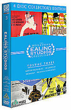 The Definitive Ealing Studios Collection - Volume 3 (DVD, 2006, 4-Disc Set, Box