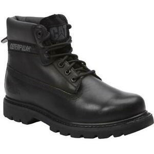 Caterpillar Colorado Mens Cat Black Wide Fit Ankle Boots Size 8-13