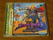 Shining Force 3 Scenario2 Sega Saturn SS Used Japan Simulation RolePlaying Game