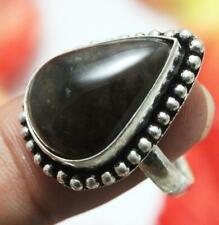 "Breciated Agate Gemstone Ring 925 Sterling Silver Overlay Us Size 9.5"" U238-F43"