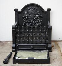 Royal STD cast iron dog grate open fire basket fireplace heavy log coal burner