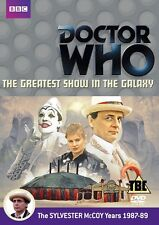 Doctor Who - The Greatest Show In The Galaxy (DVD, 2012) Brand new and sealed