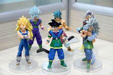 Dragon Ball Z AF Super Saiyan 6x Figures Set Goku Broly Vegeta Supreme Kai New