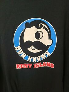 Natty BOH 2xl Xxl Mens Black Logo Short Sleeve T-shirt Kent Island Maryland Beer