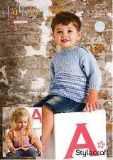 Stylecraft 9275 Crochet Pattern Baby Blanket and Comforter in Lullaby DK