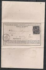 France covers 1880 Renseignement Fournis La Neuve-Lyre