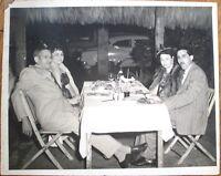 Havana/Habana, Cuba 1950s Restaurant/Nightclub 8x10 Photograph w/Cars