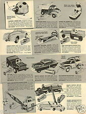 1957 PAPER AD Andy Gard Farm Tractor RC TOy Electric Magnetic Crane The Brain
