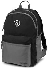 Volcom Academy 18L BackPack Black Grey Traveling Hiking Walking Work BRAND NEW