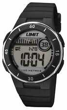 Limit Unisex Black Strap Digital Dial 5556.24 Watch