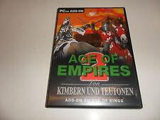 PC Age of Empires 2-de cimbrios & germano add-on