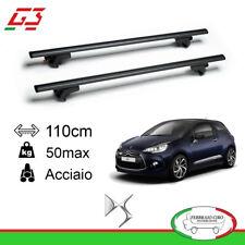 G3 set barras techo portaequipajes Pacífico 110cm Mazda 6 02 12 65.110 68.055
