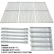 Replacement Jenn-Air 720-0709B,720-0727 Grill Burner, Heat Plate, Cooking Grid
