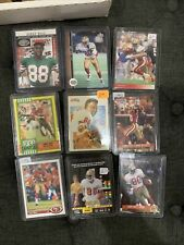 Jerry Rice inserts SP and CARD SPECIAL LOT of 17 cards Rare cards