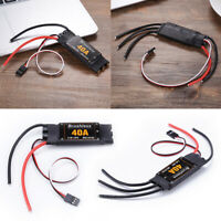 2-4S 40A Brushless ESC Electric Speed Controller RC Quadcopter Aircraft Accs