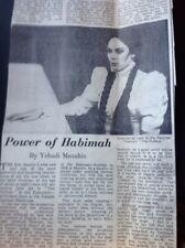 Ephemera 1965 Article Habimah Israel National Theatre The Dybbuk Aldwych da3