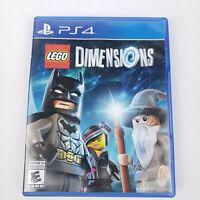LEGO Dimensions ps4 sony Playstation GAME ONLY - No Portal, No Figures