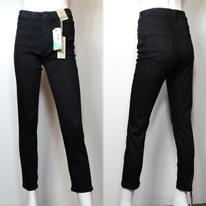 M&S Ankle Grazer CIGARETTE Leg JEANS ~ Various Sizes ~ BLACK (rrp £29.50)