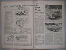 1961 Singer Vogue Original Road test