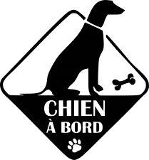 Sticker Chien a Bord 25x27cm