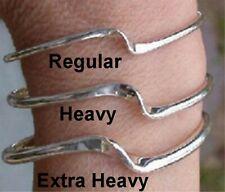 Sterling Silver Wave Bracelet REGULAR Made in Camden Maine