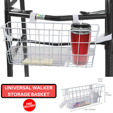New Walker Basket Organizer Pouch Mobility Disability Equipment Handicap Assist