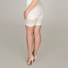 100 Brand New Emelia High Waist Shaping shorts in Ivory Size L & XL