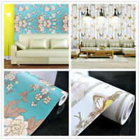 Wallpaper Rolls Stickers Vinyl Self Adhesive Contact Paper Furniture Wall Decor