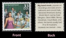 SCOTT # 3186j  - ONE 33 CENT THE BIG BAND SOUND BY ELLINGTON, MILLER STAMP - MNH