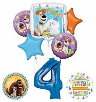 Mayflower Products Secret Life of Pets Party Supplies 4th Birthday Balloon