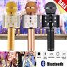 Wireless Bluetooth Karaoke Mikrofon Lautsprecher Handheld Mic KTV USB Microphone