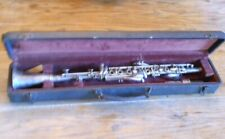 VINTAGE HOLTEN COLLEGIATE SILVERTONE CLARINET IN ORIGINAL CASE