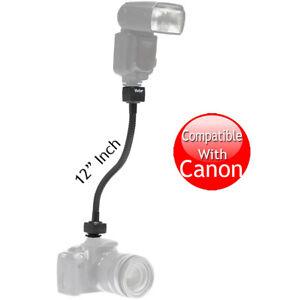 """Vivitar Flexible 12"""" 12 Inch i-TTL Flash Shoe Cord for CANON Cameras"""