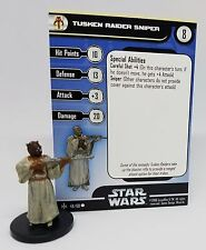 Tusken Raider Sniper, Star Wars Miniatures, Bounty Hunters #48/60