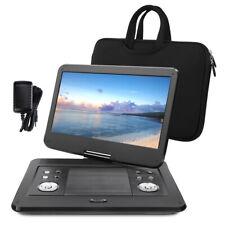 "14"" Full HD Tragbarer DVD Player Portable Fernseher Drehbarer Bildschirm USB SD"