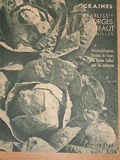 Catalogue Georges Truffaut fleurs jardin plantes fleurs
