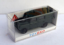 LAND ROVER LARGO LONG MILITAR 1/87 TOYEKO TOY EKO